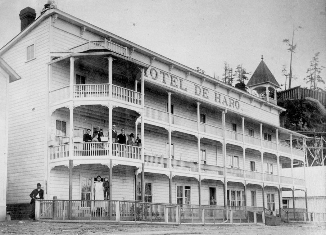 Hotel de Haro, Roche Harbor Wash