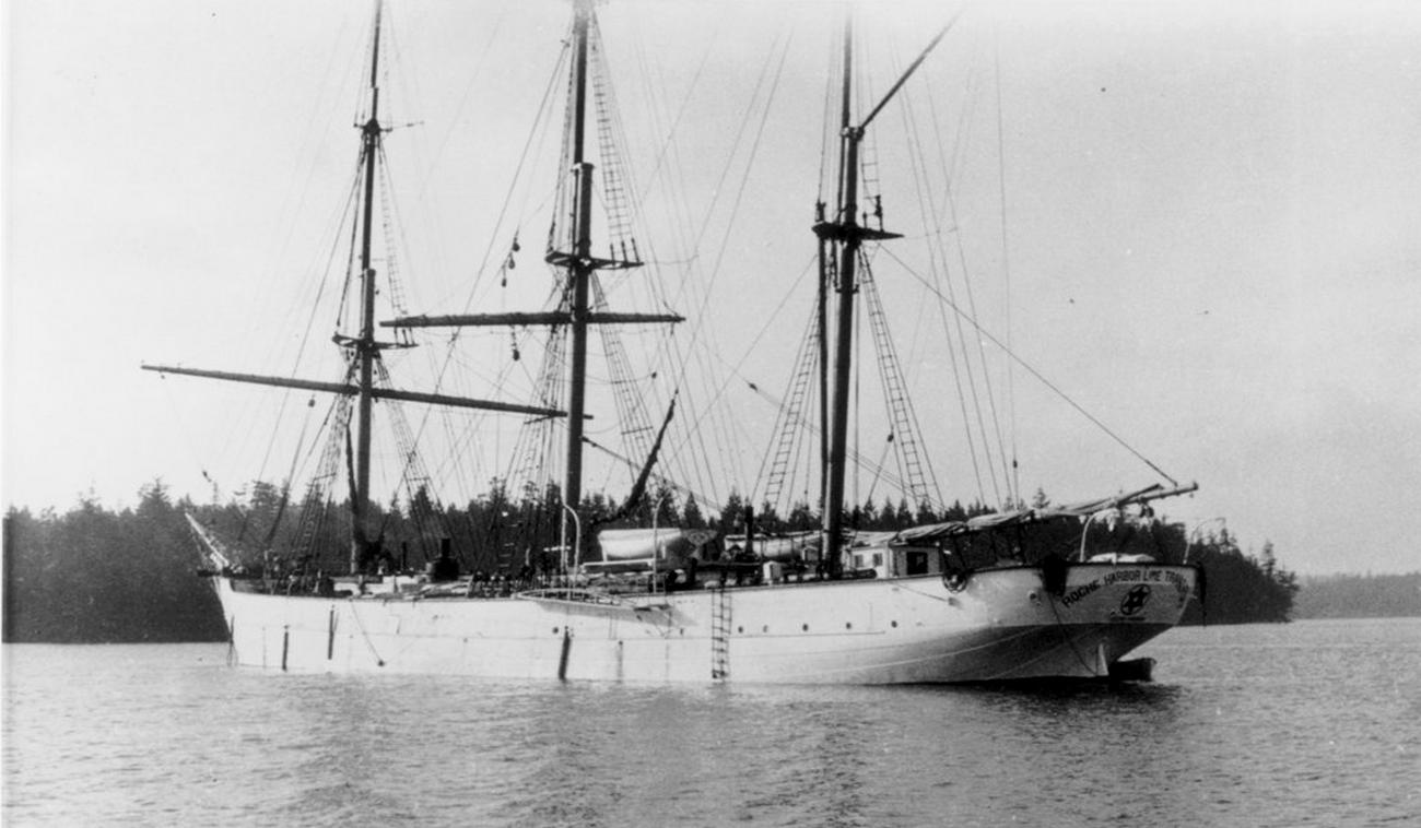 The Roche Harbor Lime Company ship Star of Chili