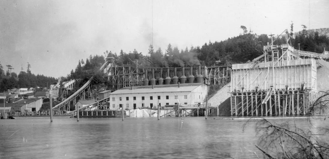 Roche Harbor in the early 1900's
