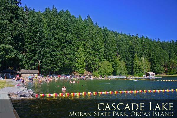 Cascade Lake, Moran State Park, Orcas Island.