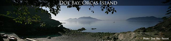 Camping at Doe Bay Resort on Orcas Isla