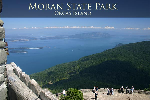 Doe Bay is just a few miles from Moran State Park. Links to Moran State Park page.