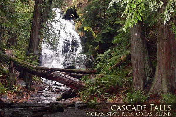 Cascade Falls Moran State Park Orcas Island