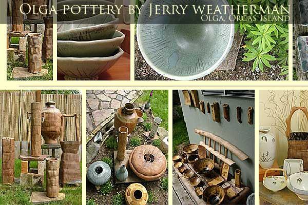 Olga Pottery, Orcas Island.