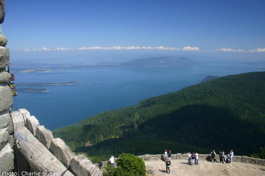 If Being On Top Of The World Is Your Thing Hike To Mount Consution For A Panoramic View San Juan Islands Olympic Peninsula And