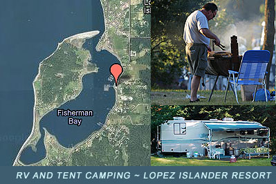 Lopez Island Camping and RV Sites