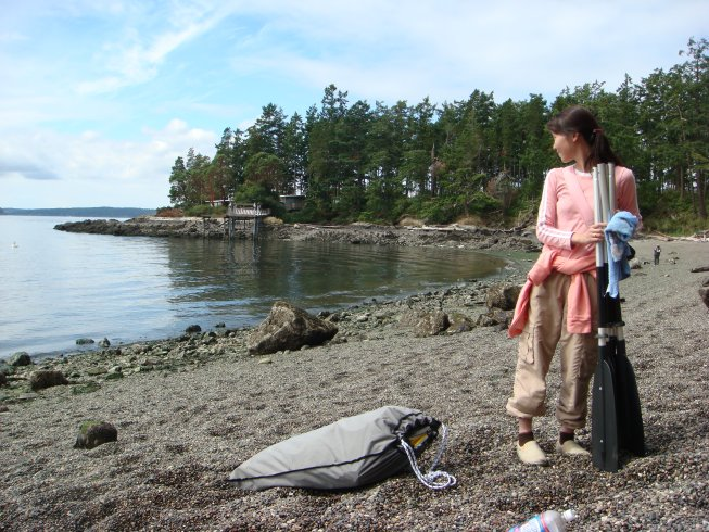 Obstruction Pass State Park features the longest beach on Orcas Island