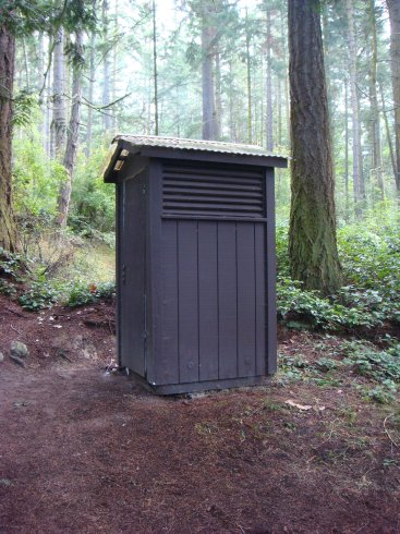 Obstruction Pass state park toilets/restrooms
