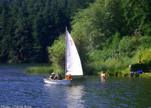Language In 45 And 47 Stella Street: Orcas Island's Cascade Lake (2010 Visitor Info For San