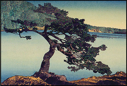 Cascade Lake, by Orcas Island artist James Hardman: http://www.jameshardman.com