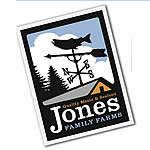 What is the business strategy of the Jones Family Farm on Lopez Island?