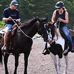Learn to ride horseback in the San Juan Islands