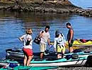Kayaking on San Juan Island